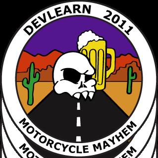 Designboarding the DevLearn11 Motorcycle Patch