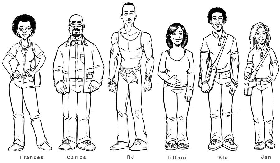 Character Design For Writers : Serious comic character development ii nuggethead studioz
