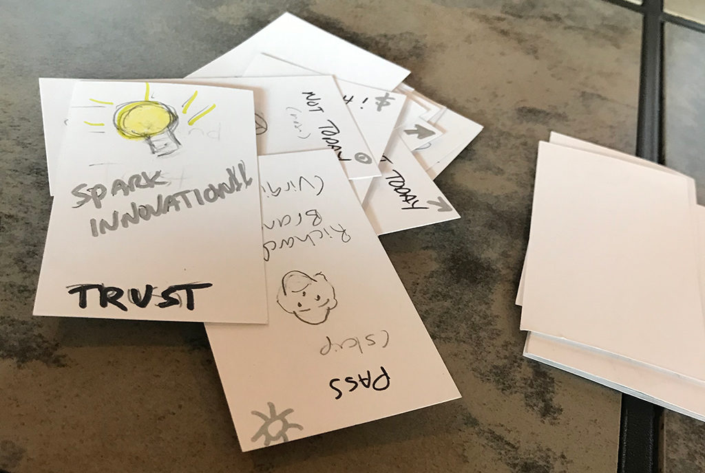 Card game prototype